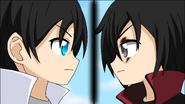 Vincent and Lightning -- anime artwork 1