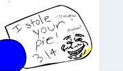 Chakatan steal pie