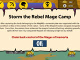 Storm the Rebel Mage Camp (Stick War: Legacy)