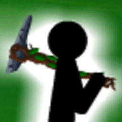 The leaf pickaxe