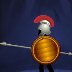 Orange Lined Round Shield(5th shield)
