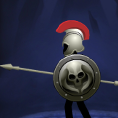 Gray shield with Skeleton(11th shield)
