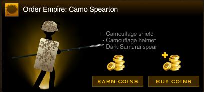 Camo spearton
