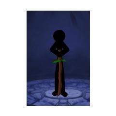 Swordwrath with wood sword