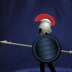 Black Lined Round Shield(6th shield)