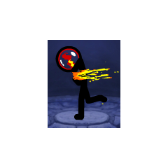 The default elemental sphere of Fire.