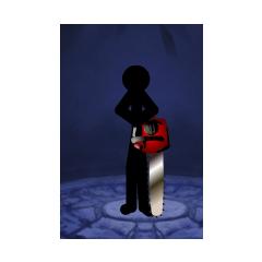 Swordwrath with chainsaw