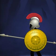 Round Golden Shield(13th shield)