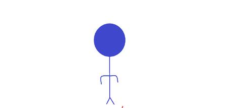 Blue Stickman