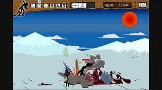 "Stick War - Insane Mode - Level 11 ""Ice Hills""-1530511689"