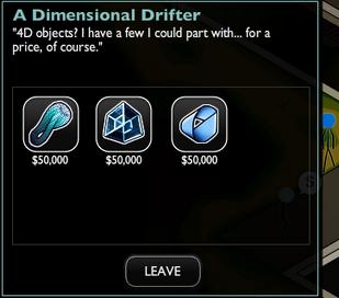 Dimensional Drifter