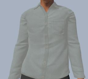 Bill white shirt