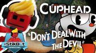 Cuphead - Stikbot Gaming (Epic Boss Battles!!)