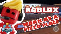 Roblox - Stikbot Gaming (Working at a Pizza Place!!)