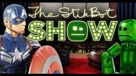 The Stikbot Show 🎬 - The one with Captain America!