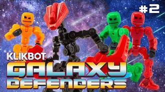 KlikBot- Galaxy Defenders - EVIL Has Arrived (S1 Ep. 2)