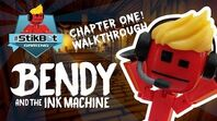 Stikbot Gaming 😱 - Bendy and the Ink Machine