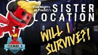 Stikbot Gaming 🤖 - Five Nights at Freddy's - Sister Location (LOTS OF SCREAMING!!)