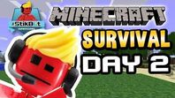 Minecraft - GO AWAY CREEPERS!! - Stikbot Gaming 🎮 (Day 2)