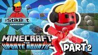 Stikbot Gaming 🎮 - Minecraft - Massive Underwater Base!!! (Aquatic update)