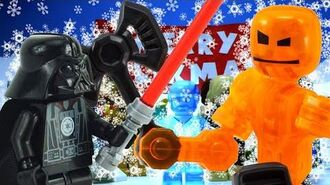 KlikBot- Galaxy Defenders and Star Wars Holiday Crossover!