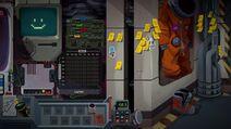 Gorky and airlock