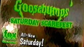 "1996 Goosebumps Promo for ""Be Careful What you Wish For"""