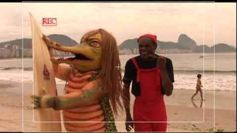 Aventuras na praia de Copacabana