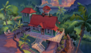 Lilo's House in ending montage
