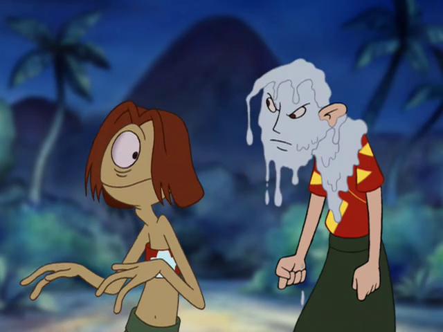 Image  Lilo and Stitch Rufus Episode67png  Stitch Database Wiki