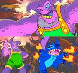 Purple alien from Scum