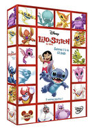 Lilo & Stitch The Series French 12 DVD set cover