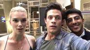 Emma, Ritesh and Kyle