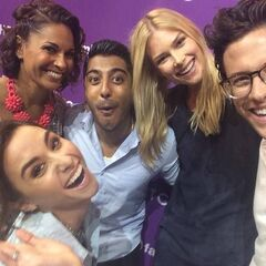 Stitchers Cast at D-23 Expo
