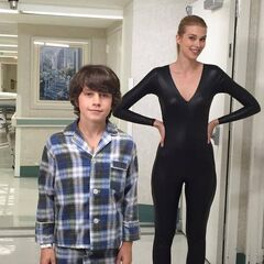 Little Cameron meets Catsuit