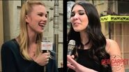 Our interview w Emma Ishta from ABC Family's New Drama Series Stitchers Stitchers