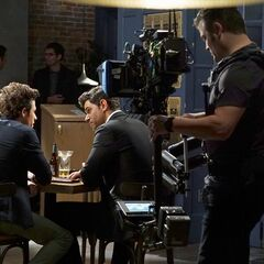 Damon and Kyle shooting Full Stop