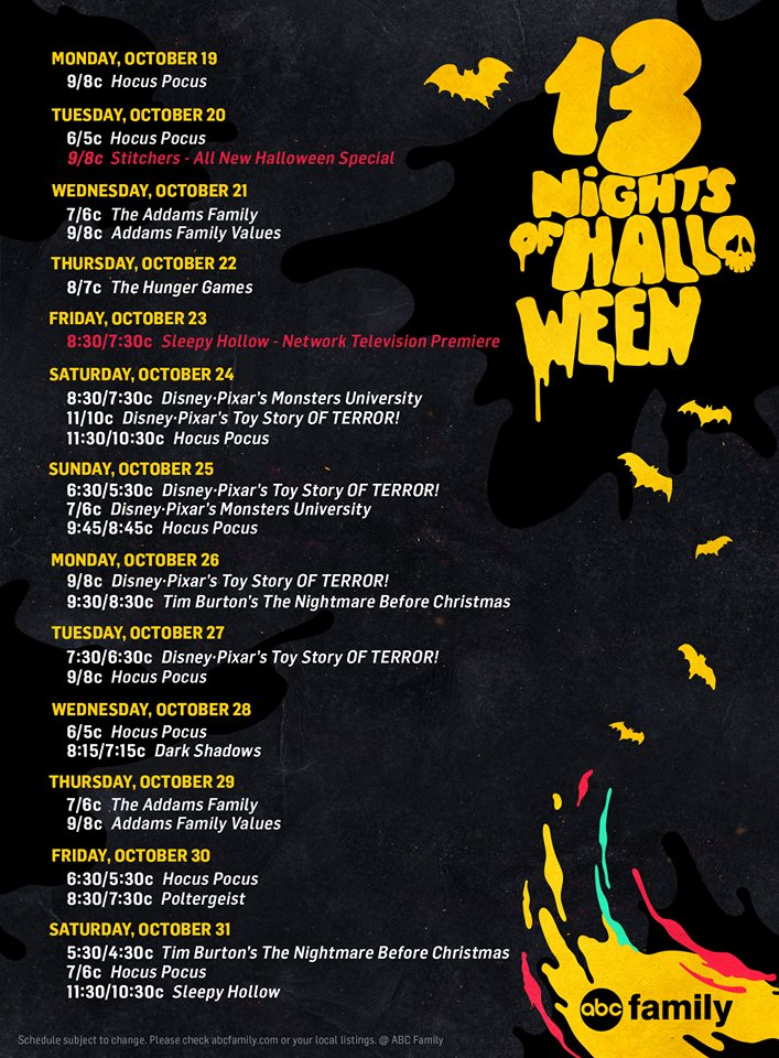 13 nights of halloweenjpg