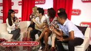 Cast of Stitchers at D23 Expo 2015 Radio Disney