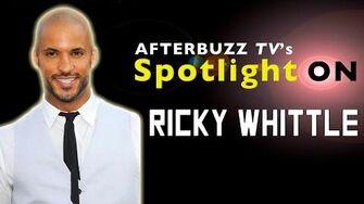 Ricky Whittle AfterBuzz TV's Spotlight On