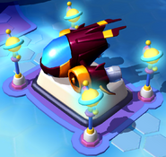 Gantu's Ship in Disney Magic Kingdoms
