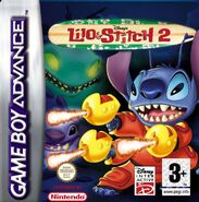 Lilo and Stitch 2 GBA European cover