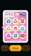Cosuins List Disney Tsum Tsum - 10 to 18