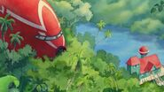 Lilo's House and Jumba's Ship in Lilo & Stitch 2
