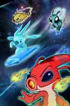 Stitch Now - Splodyhead, Slushy, Amnesio, and Zap