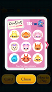 Cousins List Disney Tsum Tsum - 1 to 9