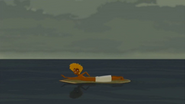 S1 E6 Reef sees Broseph heading out to surf El Duderino