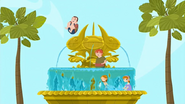 """S1 E9 Lo sees them playing in the fountain, Lo tells them """"STOP THAT!"""""""
