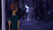 S2 E8 Reef watches the lightning strike