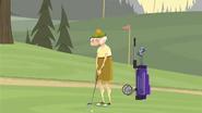 S1 E14 Chester plays golf